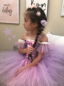 Rapunzel Tangled Princess Dress