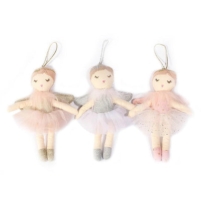 Angel Plush Mini Ballerina Set
