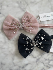 Stardust Bow - Elastic or Clip