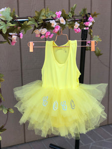 Personalized Tutu Playsuit