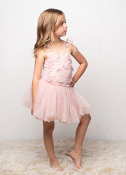 Sparkle Bubble Hem Dress