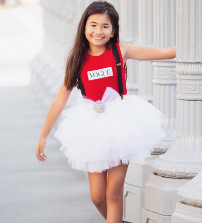 READY TO SHIP - White Tutu Étoile Skirt