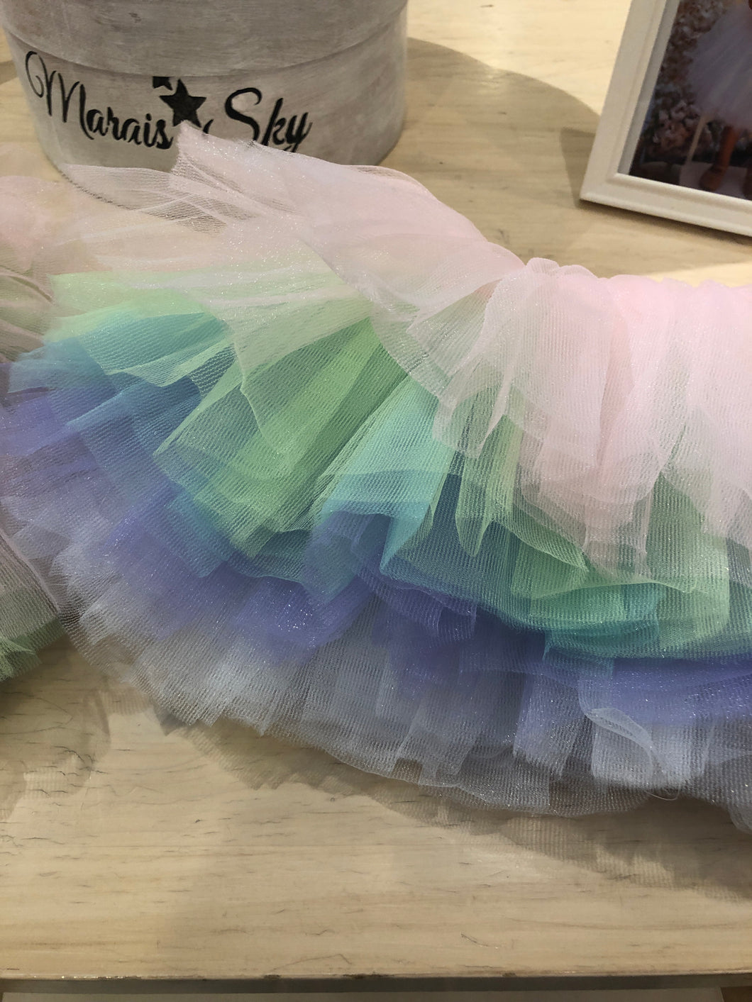 Rainbow Layered Tutu