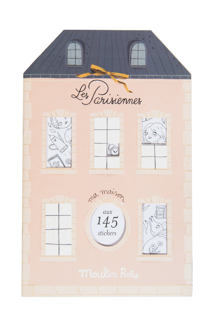 Les Parisiennes Coloring & Sticker Book - Moulin Roty