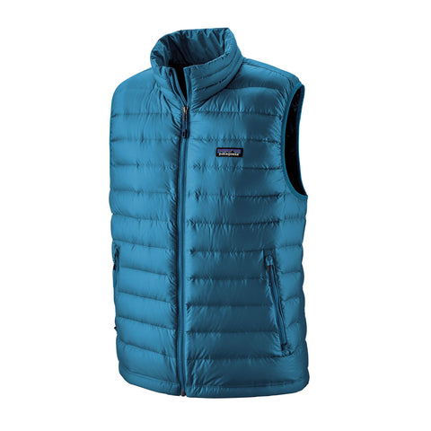 Patagonia Men's Down Sweater Vest - Blue