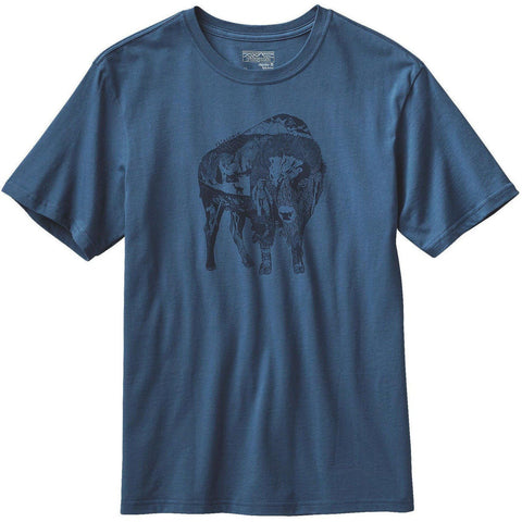 Patagonia Illustrated Buffalo Tee
