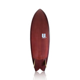 5'10 Keel Twin Fin Fish