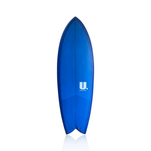 5'4 Keel Twin Fin Fish
