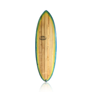 5'5 Jason Oliver Wooden Surfboard