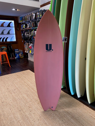 Performance Fish Surfboard 5'8 Pink