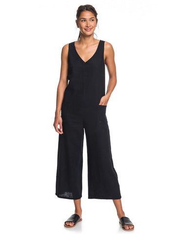 Baby Remember Solid Tank Jumpsuit