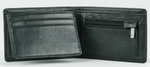 Rusty Leather Wallet Bust 2 - Black
