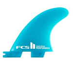 FCS II PERFORMER NEO GLASS QUAD REAR FINS
