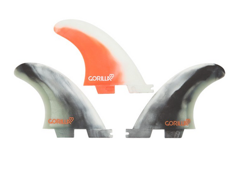 Gorilla FCS II Core Small tri fin set