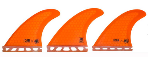 Creatures of Leisure Icon Arc Fins Orange - Small
