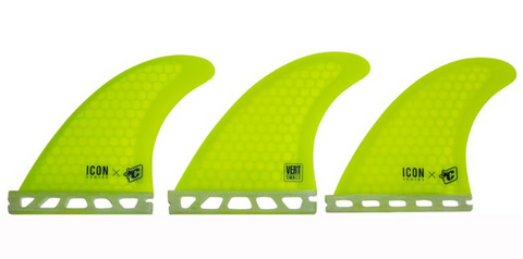 Creatures of Leisure vert fins yellow - Small