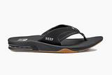 Reef Mick Fanning Bottle opener thongs - Black/Silver
