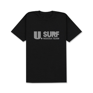 U Surf Noosa Team Black T-shirt