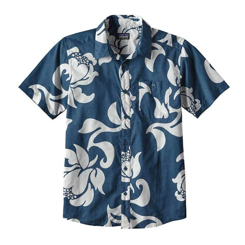 Patagonia Men's Go To Shirt - Glass Blue