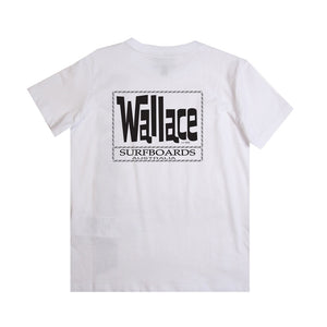 Wallace Surfboards White T-shirt