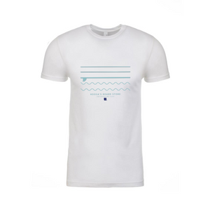 Underground Waves White T-shirt