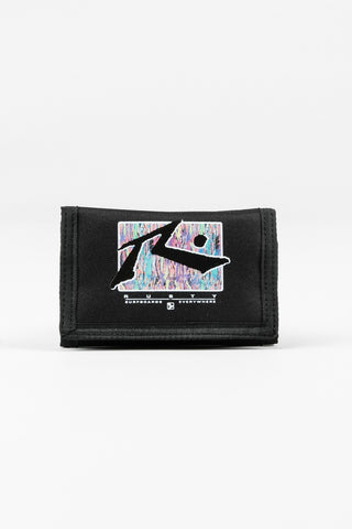 Rusty before Crowds Tri Fold wallet - Black 4