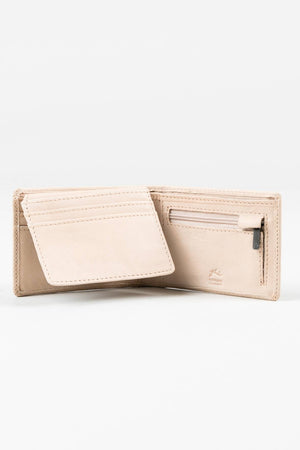 Rusty Leather Wallet Bust - Blonde