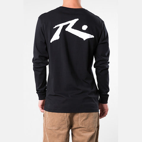 Rusty Competition L/S Tee - Black