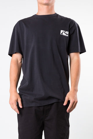 Comp Box Short Sleeve Tee - Black