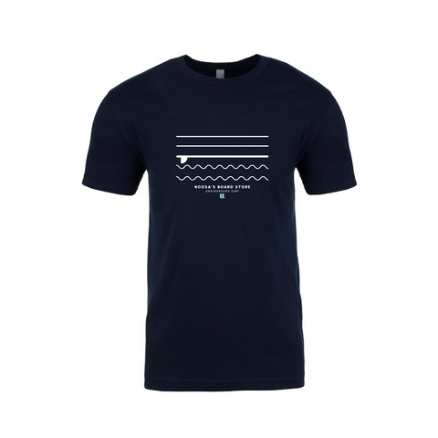 Underground Waves Navy T-shirt