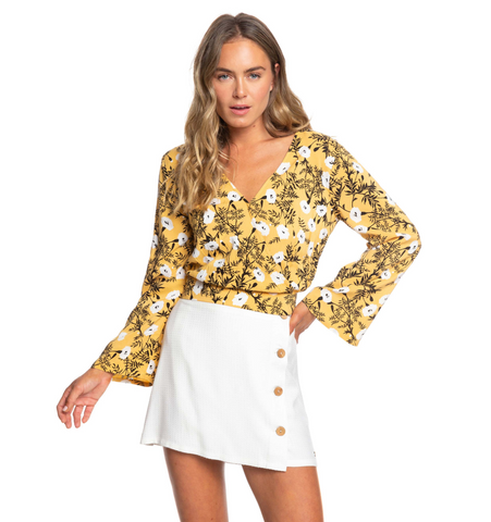 Like Gold Woven Top