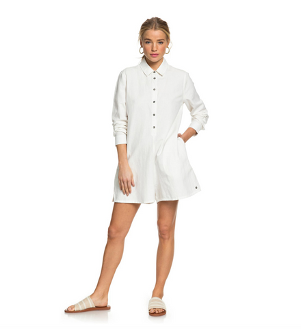 Roxy Womens Midnight Pool Long Sleeve Shirt Playsuit