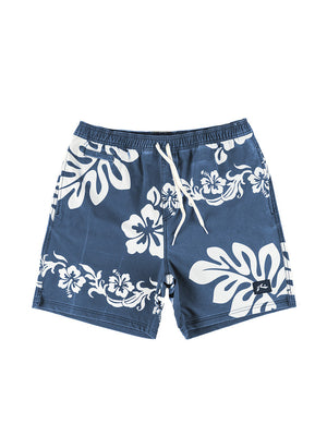 Rusty Shores Elastic Boardshort Navy Blue