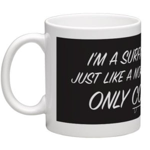 SURFING DAD MUG