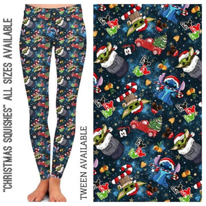 PREORDER Christmas in July Custom Leggings! CLOSES 6 Aug - ETA mid-October! Leggings