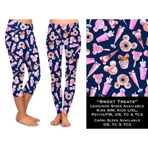 PREORDERS CLOSE 06 March - Custom Design Yoga Band Leggings/Joggers - SHIPPING EARLY MAY Leggings