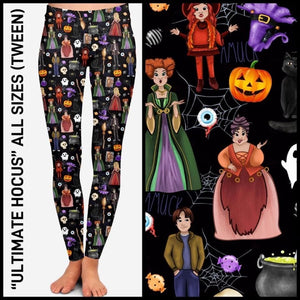 PREORDER Halloween Custom Leggings/Joggers! CLOSES 6 AUG - ETA mid-October Leggings
