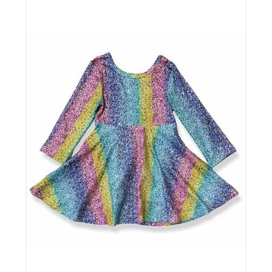 Preorder Kids Multicolour Sparkly Print Dress XXS Kids Dress