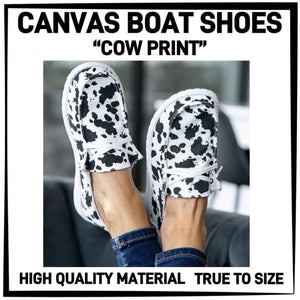 PREORDER Custom Canvas Boat Shoes! Closes 16 NOV ETA December