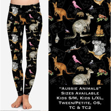 Australian Animal Leggings - shipping mid-March! OS / Aussie Animals Leggings