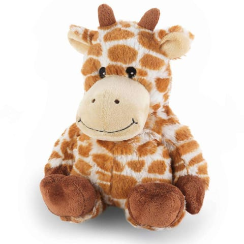 Warmies Large 33cm - Plush Animals filled with Flaxseed and French Lavender - Giraffe