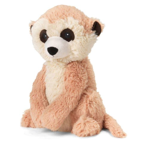 Warmies Large 33cm - Plush Animals filled with Flaxseed and French Lavender - Meerkat