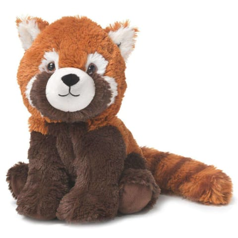 Warmies Large 33cm - Plush Animals filled with Flaxseed and French Lavender - Red Panda
