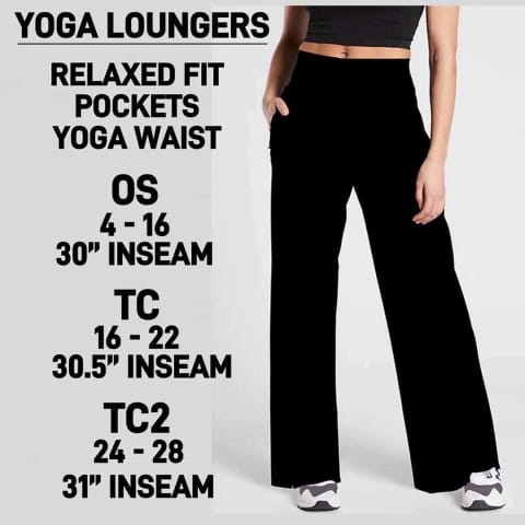 PREORDER Yoga Loungers with Pockets Closes 7 Dec - ETA mid/late Feb
