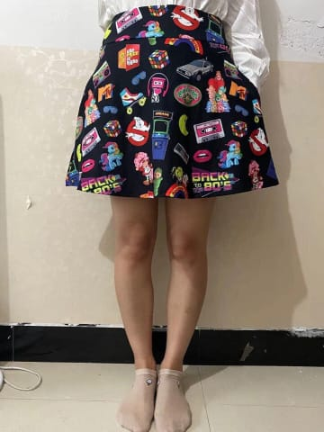 a person wearing a dress