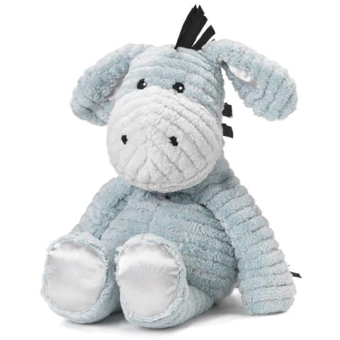 My First Warmies 30.5cm - Plush Animals filled with Flaxseed and French Lavender - Donkey
