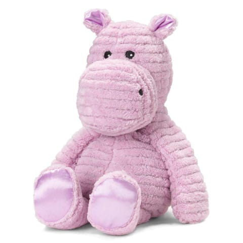My First Warmies 30.5cm - Plush Animals filled with Flaxseed and French Lavender - Hippo
