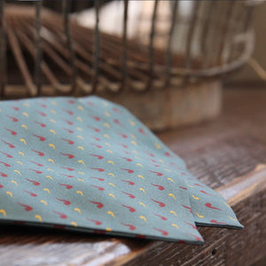 Pipe-a-Dots Cravat & Pocket square