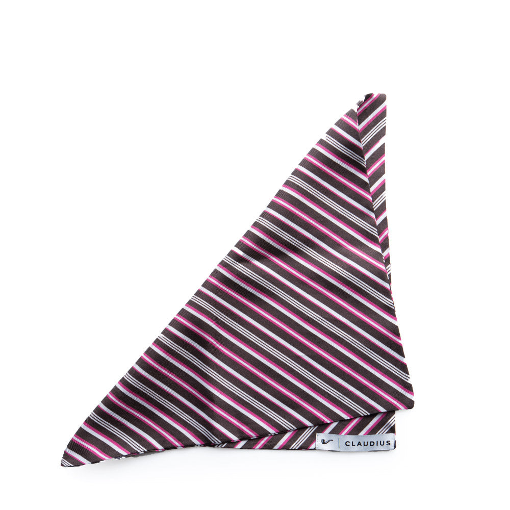 Stripe Force Pocket Square