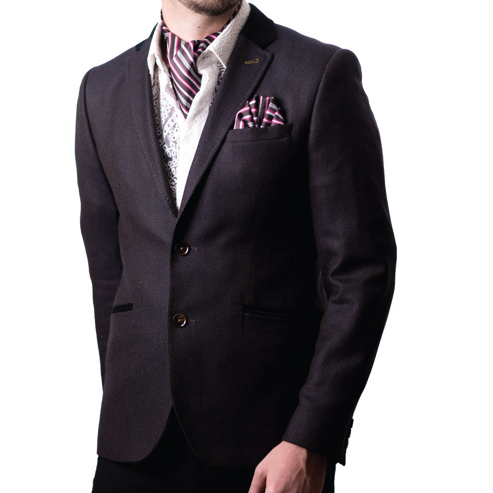 Stripe Force Cravat & Pocket Square